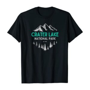 Retro Crater Lake T Shirt