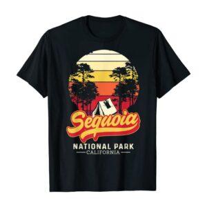 Retro Sequoia National Park Vintage Eighties Shirt