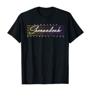 Retro Shenandoah National Park 80s Shirt