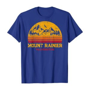 Retro Vintage Mount Rainier Shirt