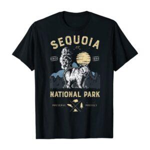 Sequoia National Park Bear Shirt
