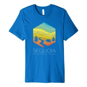 Sequoia National Park Geometric Shirt