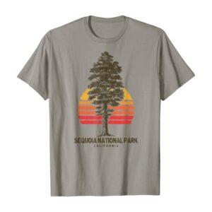 Sequoia National Park Retro Tree Shirt