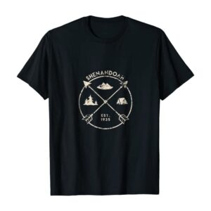 Shenandoah National Park Arrows Shirt