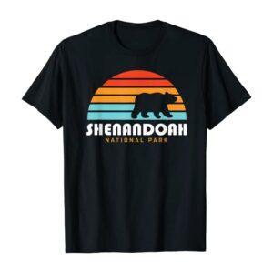 Shenandoah National Park Bear Sunrise T Shirt
