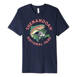 Shenandoah National Park Rainbow Trout Shirt