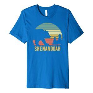 Shenandoah National Park Retro Bear Shirt