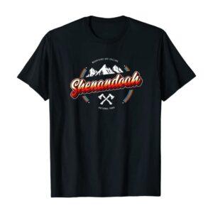 Shenandoah National Park Retro T Shirt