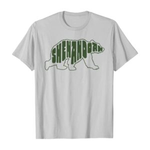 Shenandoah Virginia Bear Letters Shirt