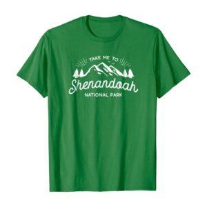 Take Me To Shenandoah Virginia Shirt