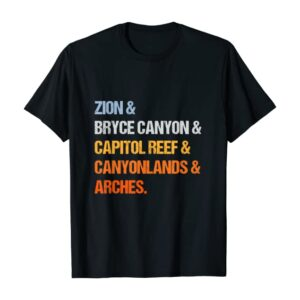 Utah National Parks T-Shirt
