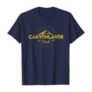 Vintage Canyonlands National Park Shirt