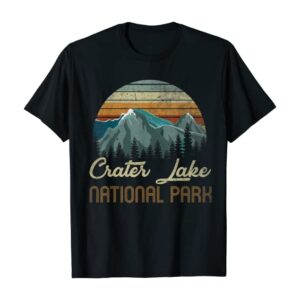 Vintage Crater Lake National Park T Shirt