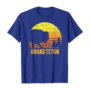 Vintage Grand Teton Bison Shirt