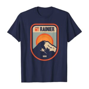 Washington Mount Rainier National Park Retro Shirt