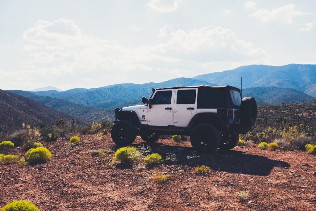 Jeep 4x4 in National Parks