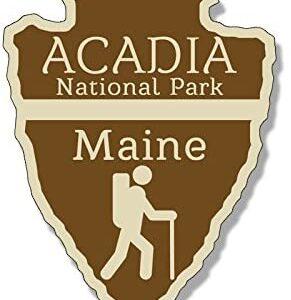 Acadia National Park Arrowhead Sticker