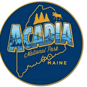 Acadia National Park Maine Sticker