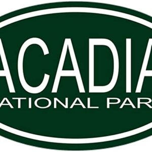 Acadia National Park Oval Bumper Sticker