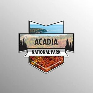 Acadia National Park Vinyl Decal Sticker