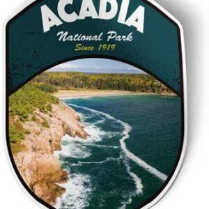 Acadia National Park Vinyl Sticker Decal