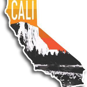 California Yosemite El Capitan Sticker
