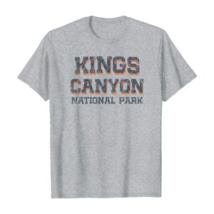 Classic Kings Canyon National Park Bold Shirt
