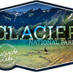 Glacier National Park Avalanche Lake Badge