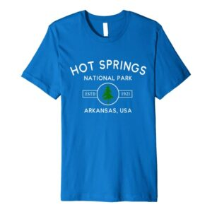 Hot Springs National Park Arkansas Tree Shirt