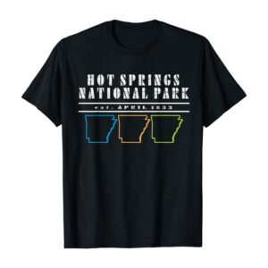 Hot Springs National Park Arkansas Usa Shirt