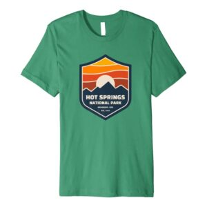 Hot Springs National Park Retro Shirt