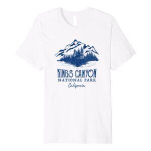 Kings Canyon National Park California Shirt
