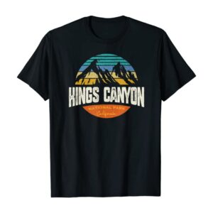 Kings Canyon National Park California T Shirt