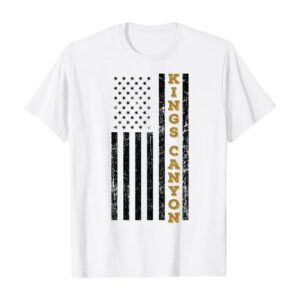 Kings Canyon National Park Flag Shirt