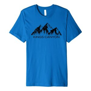 Kings Canyon National Park Mountains T Shirt