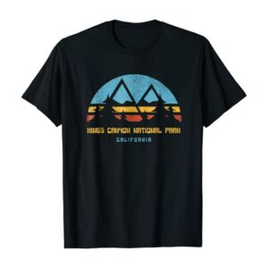 Kings Canyon National Park Retro Shirt