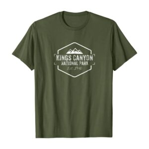 Kings Canyon National Park Sierra Nevada Shirt