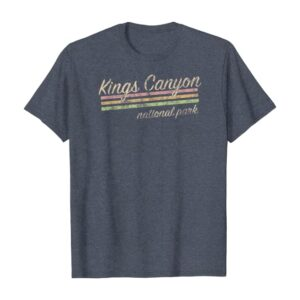 Kings Canyon National Park Stripes Shirt