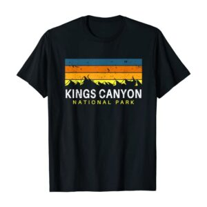 Kings Canyon National Park Sunset Shirt