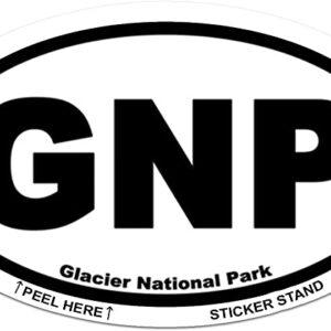 Oval Gnp Bumper Sticker