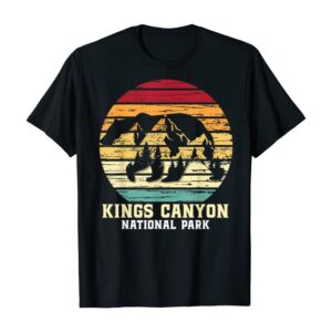 Vintage Kings Canyon National Park T Shirt