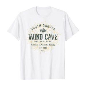 Vintage Wind Cave National Sunrise Shirt