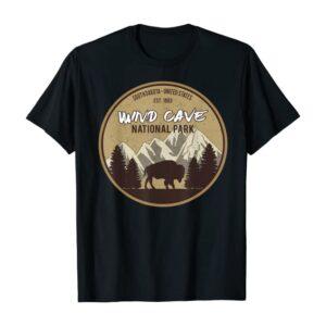 Wind Cave National Park Bison Shirt
