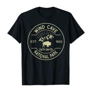Wind Cave National Park Range T Shirt