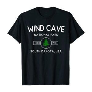 Wind Cave National Park South Dakota 1903 Shirt