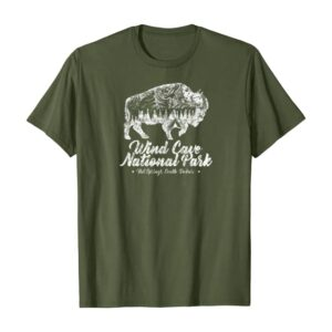 Wind Cave National Park Tee For Bison Lovers