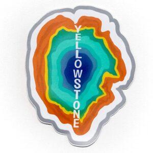Yellowstone Geyser Uv Resistant Rv Sticker