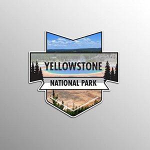 Yellowstone National Park Uv Resistant Sticker