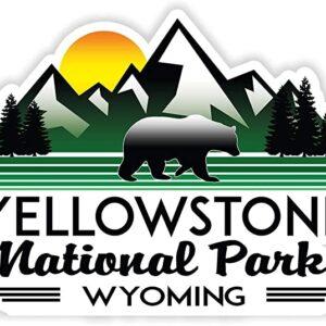 Yellowstone National Park Vinyl Decal Sticker