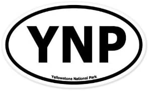 Ynp Oval Sticker